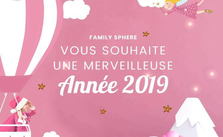 Meilleurs voeux 2019 !