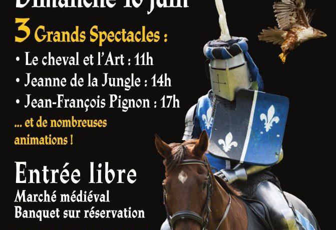 Fête Médiévale le 16/06 à St-Côme-et-Maruéjols
