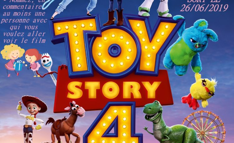 🎬JEU CONCOURS TOY STORY 4🎬
